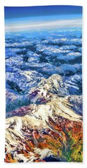 Swiss Alps Hand Towel
