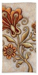 Tapestry Flower 3 Bath Towel