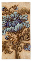 Tapestry Flower 5 Hand Towel
