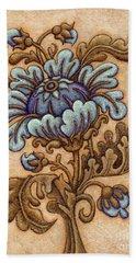 Tapestry Flower 5 Bath Towel