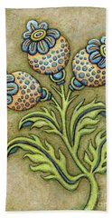 Tapestry Flower 6 Hand Towel