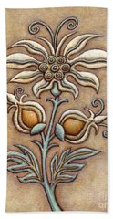 Tapestry Flower 9 Hand Towel