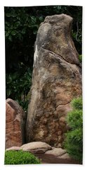 Bath Towel featuring the photograph Teeny Weeny And Biggy Wiggy - Rock Formations by Debi Dalio