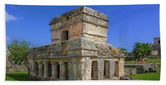 Temple Of The Frescoes Hand Towel