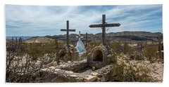Terlingua Cemetery Bath Towel