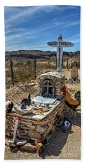 Terlingua Grave Bath Towel