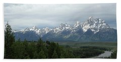 Tetons Bath Towel