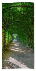The Alley Of The Ivy Bath Towel
