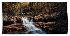 The Autumn Cascades Of Arizona  Bath Towel