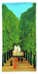 The Avenue In The Park At Saint Cloud - Digital Remastered Edition Bath Towel