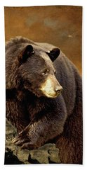 The Bear Went Over The Mountain Bath Towel