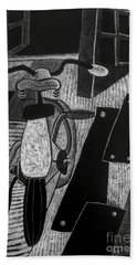 The Bicycle. Hand Towel
