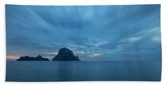 The Blue Hour In Es Vedra, Ibiza Bath Towel