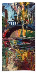 The Bridge At City Park New Orleans Bath Towel