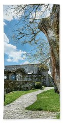 The Castle Of Villamarin Bath Towel