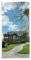 The Castle Of Villamarin Hand Towel