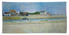 The Channel Of Gravelines Grand Fort Philippe Bath Towel