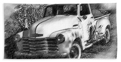 The Chevy Truck Hand Towel