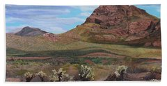 The Cholla At Mount Mcdowell, Arizona Hand Towel