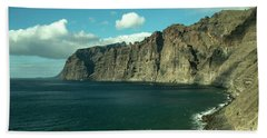 The Cliffs At Los Gigantes  Bath Towel