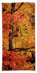 The Colors Of Fall Bath Towel