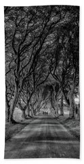The Dark Hedges Bath Towel