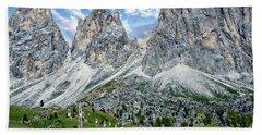 The Dolomites Bath Towel
