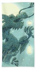 The Dragon Tree - Night Hand Towel
