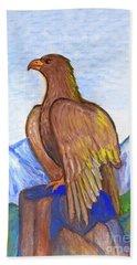 The Eagle Hand Towel