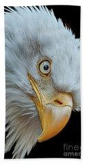 The Eye Of The Eagle Bath Towel