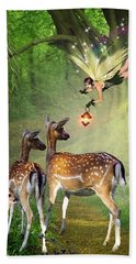 The Fairy Of The Forest Hand Towel