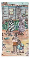 The Family On Magnolia Road Hand Towel