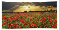 Bath Towel featuring the photograph The Final Sortie Wwi Version by Gary Eason
