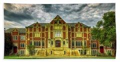 The Fine Arts Building - Ball State University Bath Towel