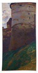 The Fortress Tower, Nizhny Novgorod - Digital Remastered Edition Bath Towel