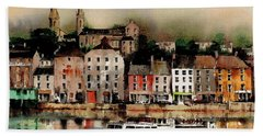 The Galley Off New Ross, Wexford Hand Towel