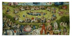 The Garden Of Earthly Delights, Center Panel Bath Towel