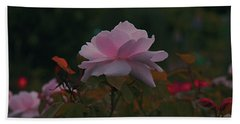 The Glowing Rose Hand Towel