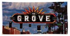 The Grove Hand Towel