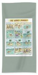 The Heros Journey Bath Towel