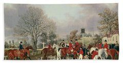 The Hertfordshire Hunt  Hand Towel