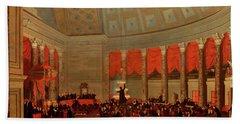 The House Of Representatives, 1822 Bath Towel