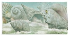 The Island Of Giant Shells Hand Towel