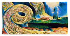 The Lovers' Whirlwind, Francesca Da Rimini And Paolo Malatesta - Digital Remastered Edition Bath Towel