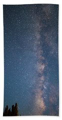 The Milky Way In Arizona Bath Towel