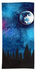 The Moon Bath Towel