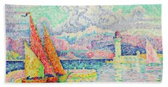 The Musior, Port Of Antibes - Digital Remastered Edition Hand Towel