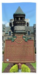 The Ohio State Reformatory Mansfield Ohio1455b Bath Towel