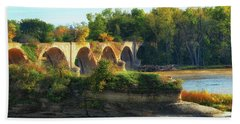 The Old Bridge  Hand Towel