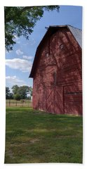 The Old Red Barn Hand Towel